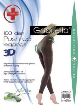 Getry modelujące grube LEGG.PUSH UP 100 DEN
